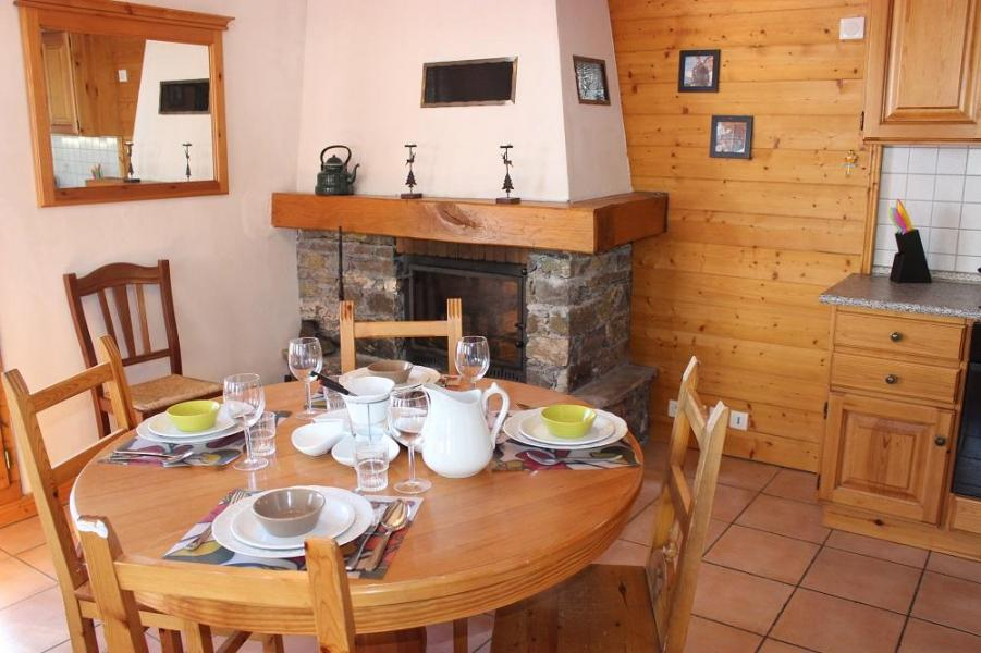 Vakantie in de bergen Appartement 2 kamers 5 personen (4) - Chalet Emeraude - Val Thorens - Tafel