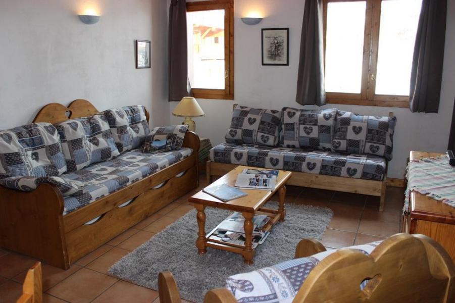 Vakantie in de bergen Appartement 2 kamers 5 personen (4) - Chalet Emeraude - Val Thorens - Woonkamer