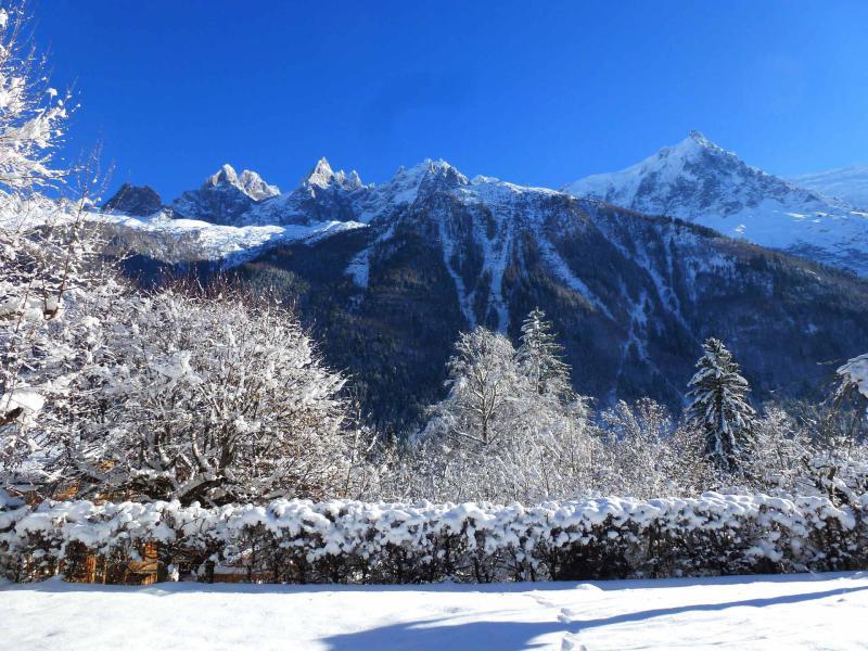 Location au ski Chalet 6 pièces 8 personnes - Chalet Eole - Chamonix - Extérieur été