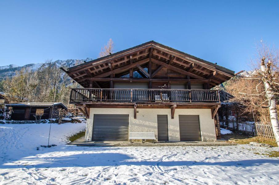 Vacances en montagne Chalet Eole - Chamonix - Extérieur été