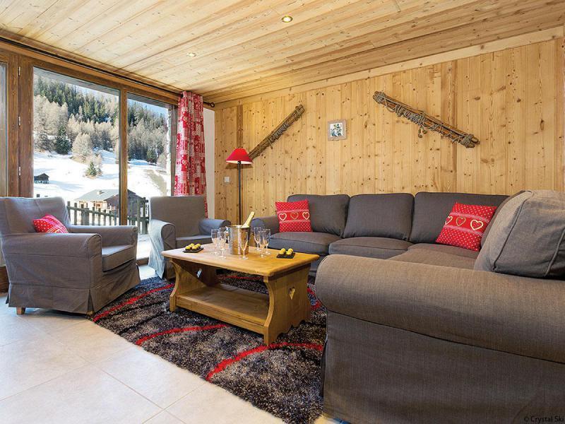 Wakacje w górach Chalet Epicéa - La Plagne - Pokój gościnny