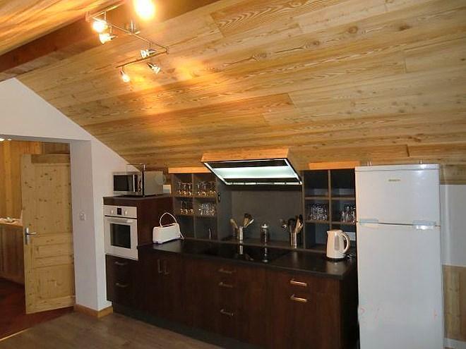 Holiday in mountain resort Chalet Erika - Les 2 Alpes - Kitchen