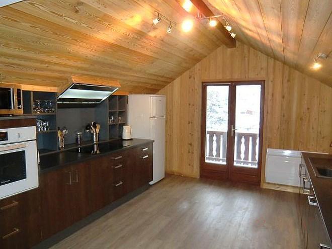 Holiday in mountain resort Chalet Erika - Les 2 Alpes - Open-plan kitchen