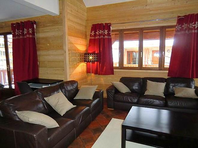 Holiday in mountain resort Chalet Erika - Les 2 Alpes - Settee