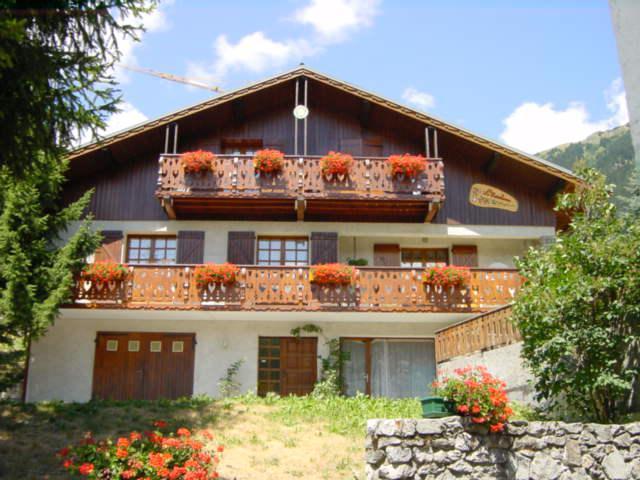 Vakantie in de bergen Chalet Estelann - Champagny-en-Vanoise - Buiten zomer