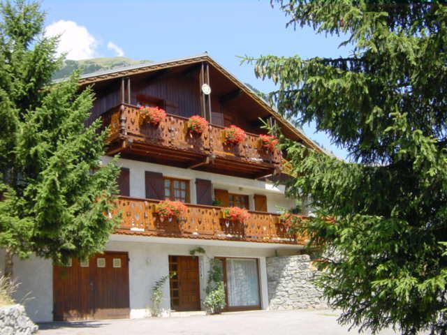 Wakacje w górach Apartament 2 pokojowy 4 osób (1) - Chalet Estelann - Champagny-en-Vanoise - Na zewnątrz latem
