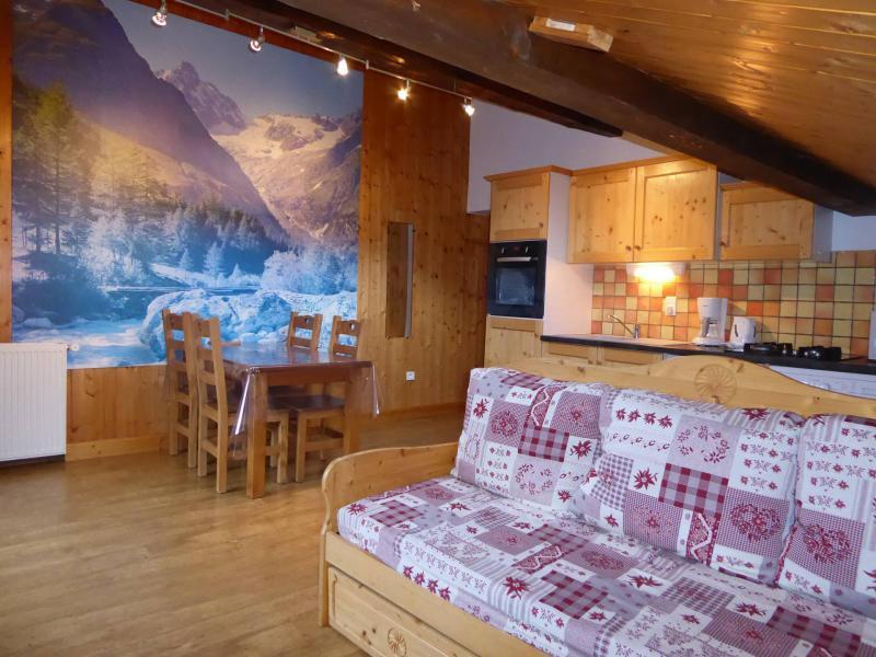 Wakacje w górach Apartament 2 pokojowy 4 osób (1) - Chalet Estelann - Champagny-en-Vanoise - Pokój gościnny