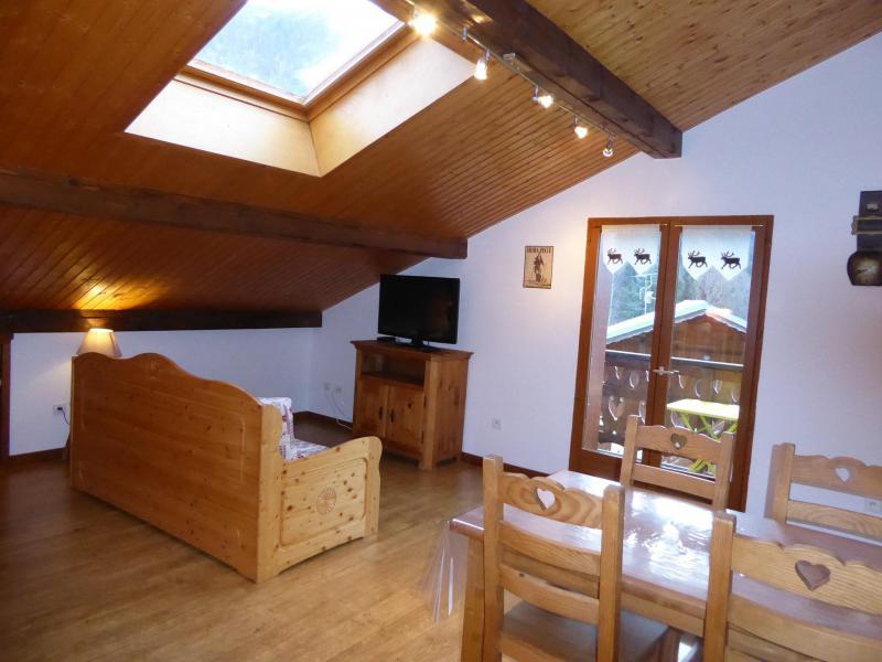 Wakacje w górach Apartament 2 pokojowy 4 osób (1) - Chalet Estelann - Champagny-en-Vanoise - Rozkładaną sofą