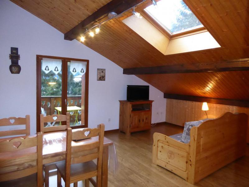 Vakantie in de bergen Appartement 2 kamers 4 personen (2) - Chalet Estelann - Champagny-en-Vanoise - Pull-out sofa