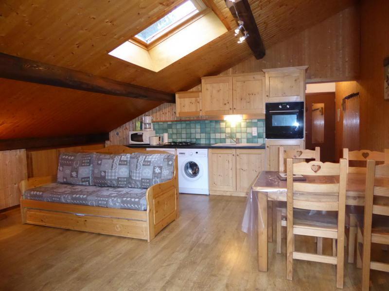 Vakantie in de bergen Appartement 2 kamers 4 personen (2) - Chalet Estelann - Champagny-en-Vanoise - Woonkamer