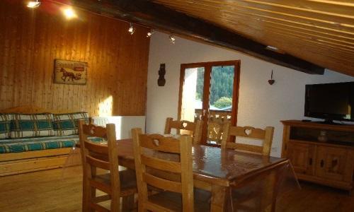 Vacances en montagne Chalet Estelann - Champagny-en-Vanoise - Salle à manger