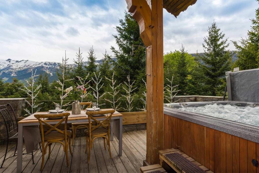 Vacances en montagne Chalet Etienne - Méribel - Extérieur été