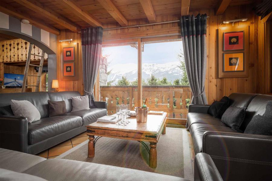 Vacances en montagne Chalet Etienne - Méribel - Coin séjour