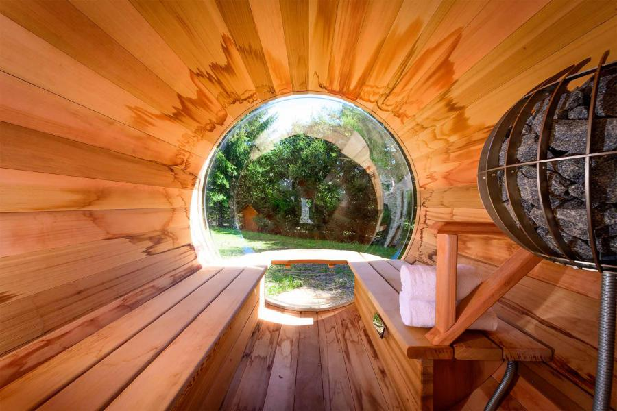 Vacances en montagne Chalet Etienne - Méribel - Sauna
