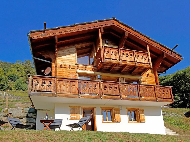 Vacances en montagne Chalet Etoile des 4 Vallées - Thyon - Extérieur été