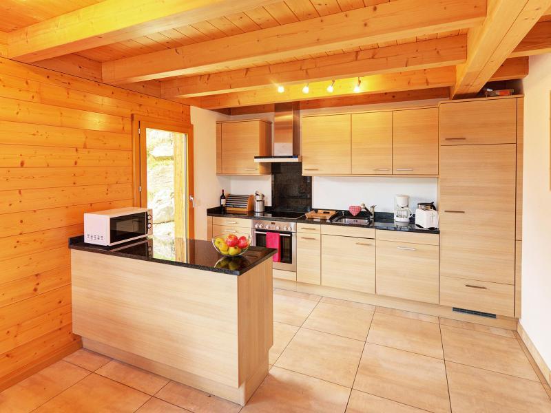 Vacances en montagne Chalet Etoile des 4 Vallées - Thyon - Cuisine