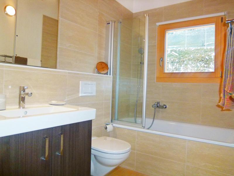 Vacances en montagne Chalet Falcons Nest - Thyon - Salle de bains