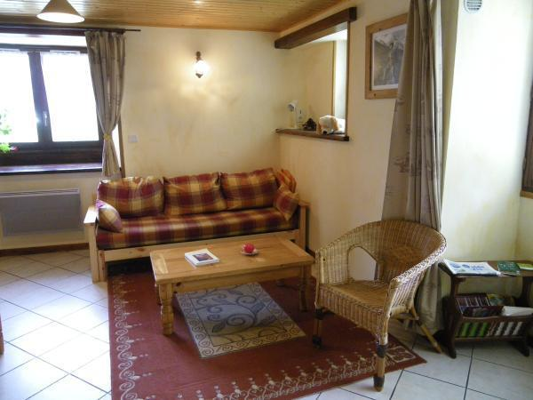 Holiday in mountain resort 3 room apartment 4 people - Chalet Falcoz - Valloire - Living room