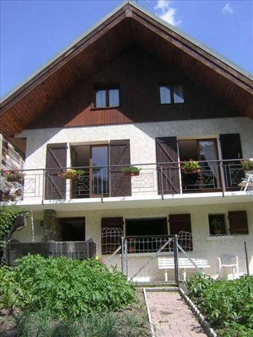 Holiday in mountain resort Chalet Falcoz - Valloire - Summer outside
