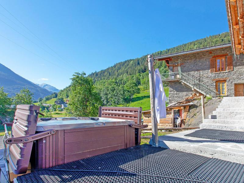 Wakacje w górach Chalet Farmhouse - Les Arcs - Na zewnątrz latem