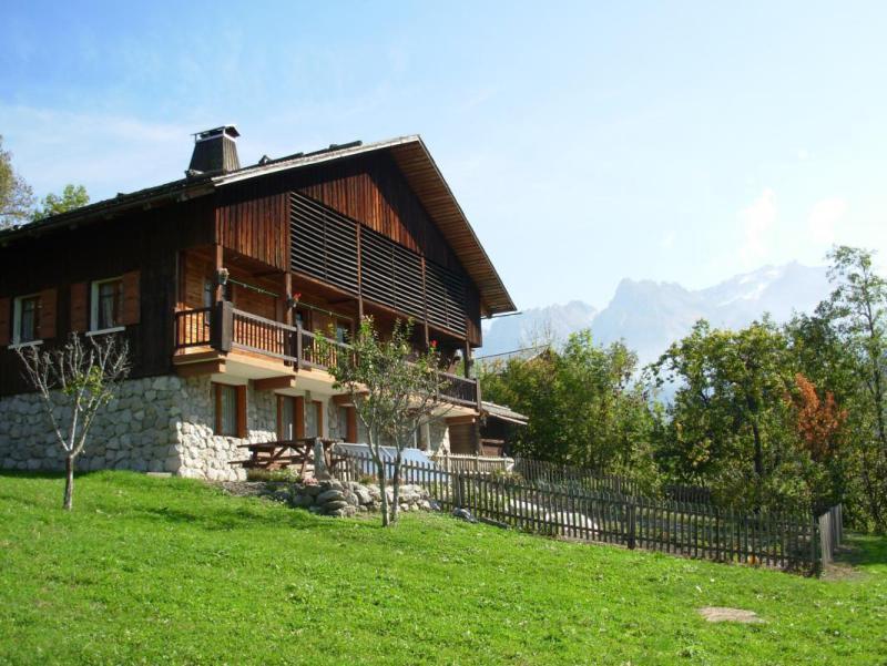 Vacaciones en montaña Chalet Ferme le B'Zet - Le Grand Bornand - Verano