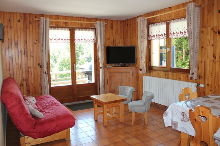 Holiday in mountain resort 4 room apartment 9 people (326) - Chalet Fleur des Alpes - Le Grand Bornand - Accommodation