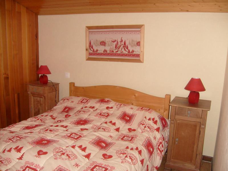 Holiday in mountain resort 4 room mezzanine apartment 12 people (8) - Chalet Fleur des Alpes - Le Grand Bornand - Double bed