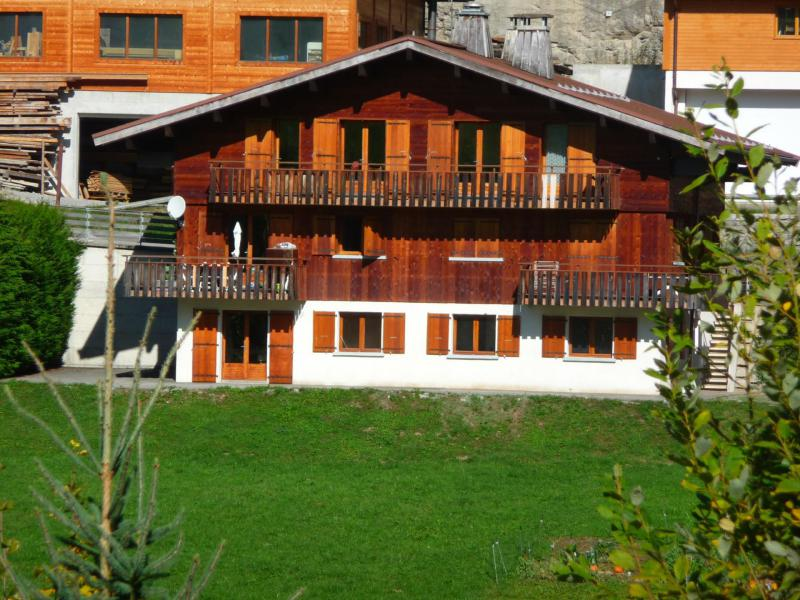 Holiday in mountain resort 4 room apartment 9 people (326) - Chalet Fleur des Alpes - Le Grand Bornand - Summer outside