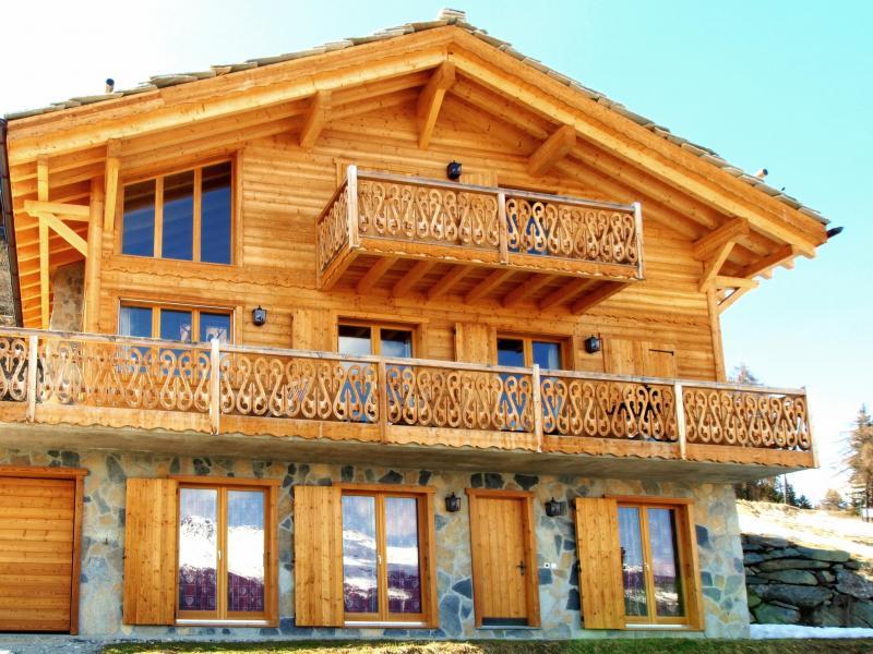 Location au ski Chalet Fleur Des Collons - Thyon - Extérieur été