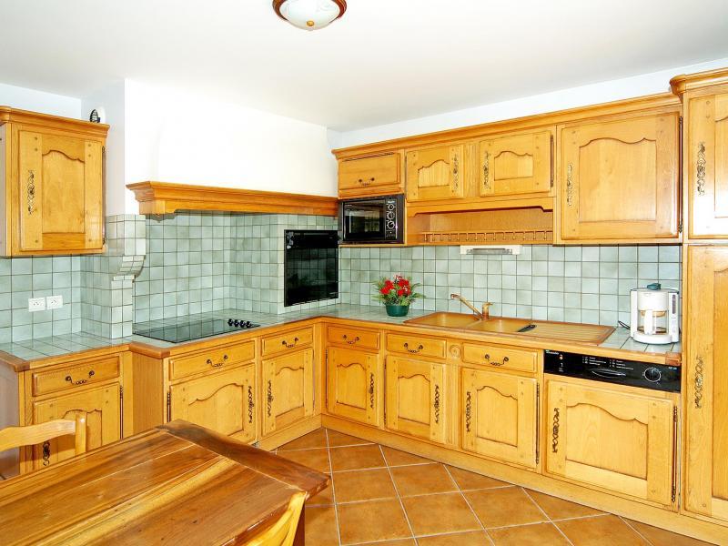 Holiday in mountain resort Chalet Flocon de Belleville - Les Menuires - Kitchen
