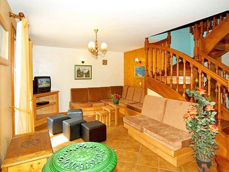 Urlaub in den Bergen Chalet Flocon de Belleville - Les Menuires - Wohnzimmer