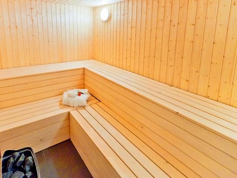 Vacances en montagne Chalet Flocon de Neige - La Tzoumaz - Sauna
