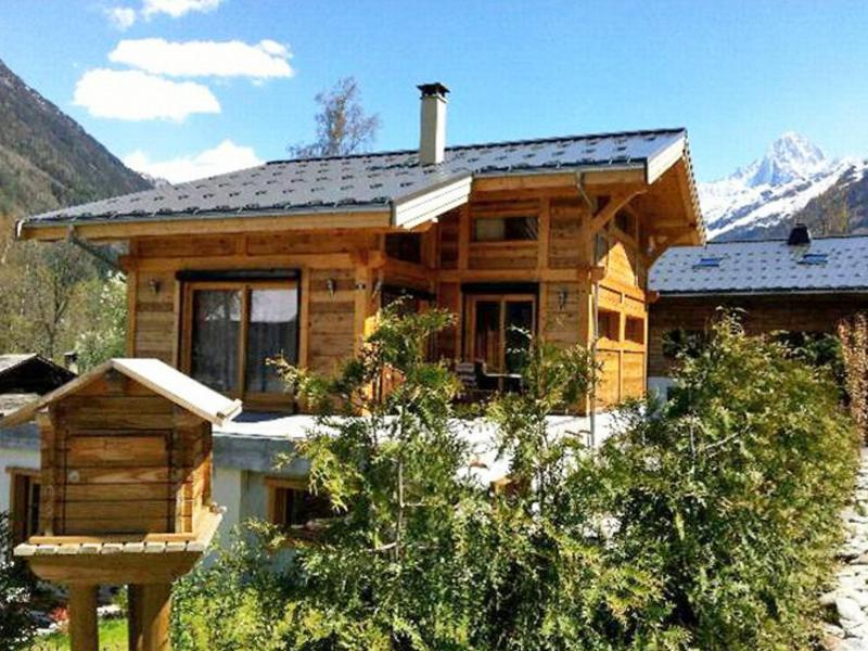 Holiday in mountain resort 2 room apartment 3 people (1) - Chalet Fouladoux - Les Houches - Summer outside