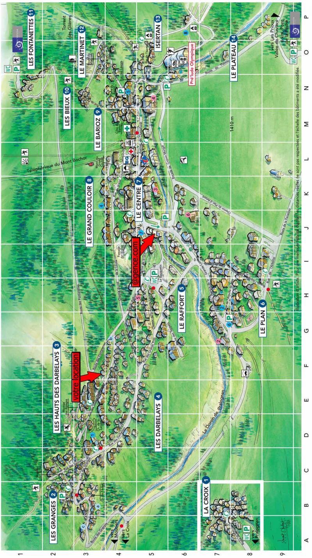 Wakacje w górach Chalet Fran Blanc - Pralognan-la-Vanoise - Plan