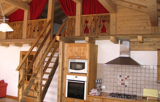 Vacances en montagne Chalet Gaiduch - La Rosière - Four