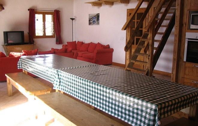 Vacances en montagne Chalet Gaiduch - La Rosière - Table
