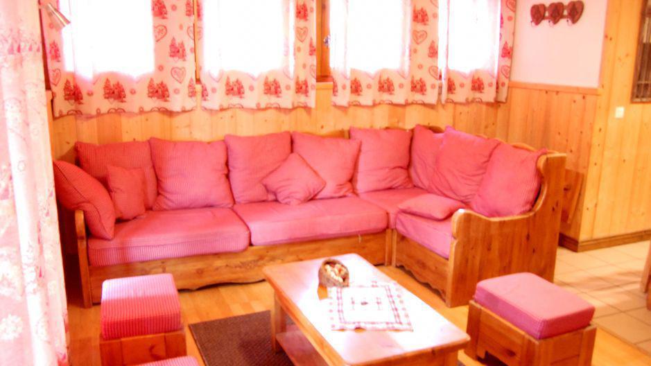 Vacances en montagne Chalet Geffriand - Les Menuires - Séjour