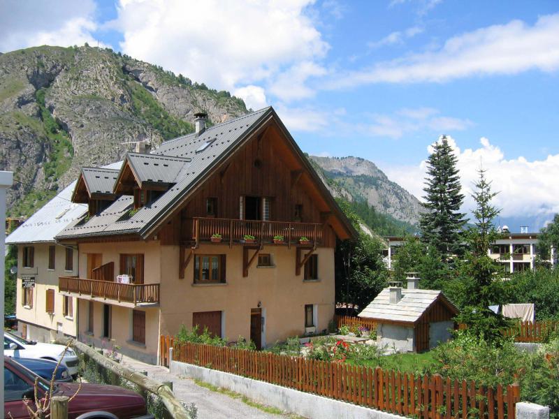 Аренда на лыжном курорте Chalet Gilbert Collet - Valloire - летом под открытым небом