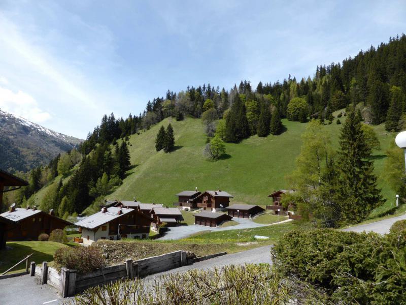 Аренда на лыжном курорте Шале 4 комнат 6 чел. - Chalet Goh - Les Contamines-Montjoie - летом под открытым небом
