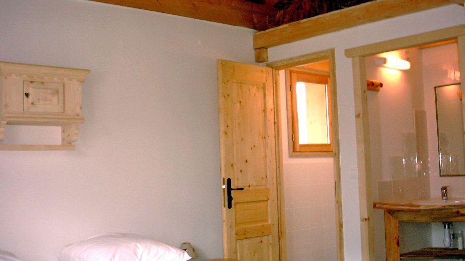 Vacances en montagne Chalet Gran Koute - Les Menuires - Chambre