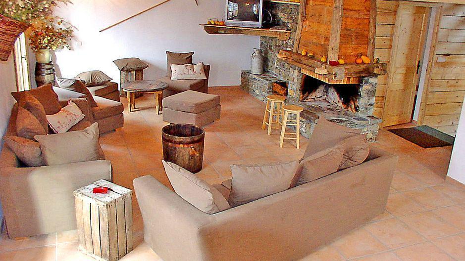 Vacances en montagne Chalet Gran Koute - Les Menuires - Séjour