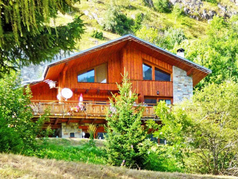 Vacances en montagne Chalet Grand Arbet - Champagny-en-Vanoise - Extérieur été
