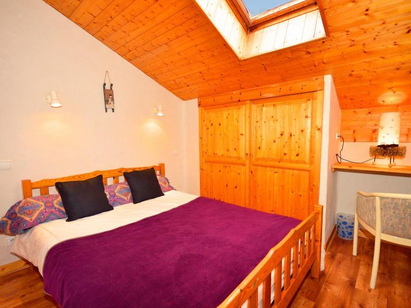 Vacances en montagne Chalet Grand Arbet - Champagny-en-Vanoise - Chambre mansardée