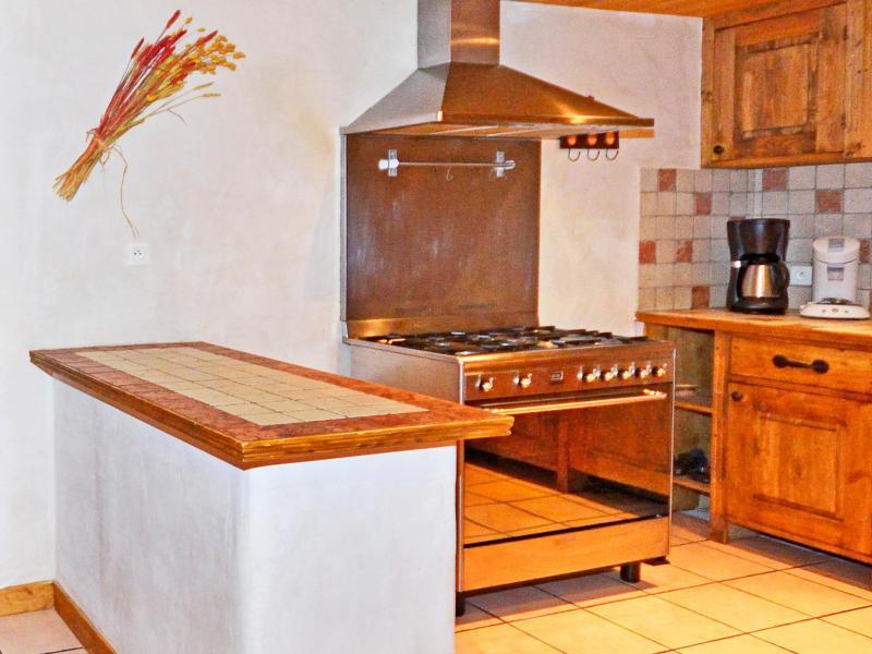 Vacances en montagne Chalet Grand Arbet - Champagny-en-Vanoise - Cuisine ouverte