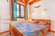 Vacances en montagne Chalet Grand Arbet - Champagny-en-Vanoise - Lit double