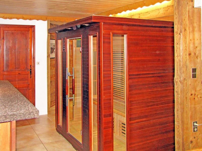 Holiday in mountain resort Chalet Grand Massif - Morillon - Sauna