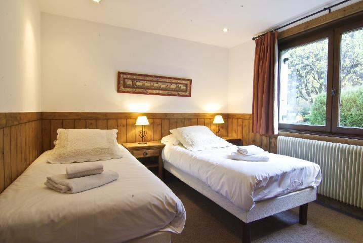 Holiday in mountain resort 4 room chalet 6 people (bediere) - Chalet Griotte - Chamonix - Single bed
