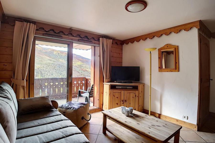 Urlaub in den Bergen 3-Zimmer-Appartment für 6 Personen (C5) - Chalet Hameau des Marmottes - Les Menuires