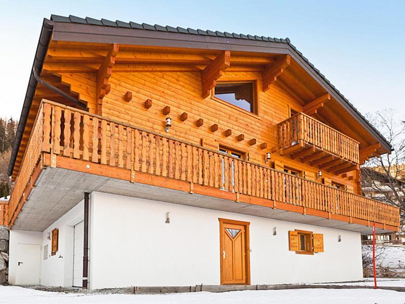 Location au ski Chalet Harmonie - La Tzoumaz - Extérieur été