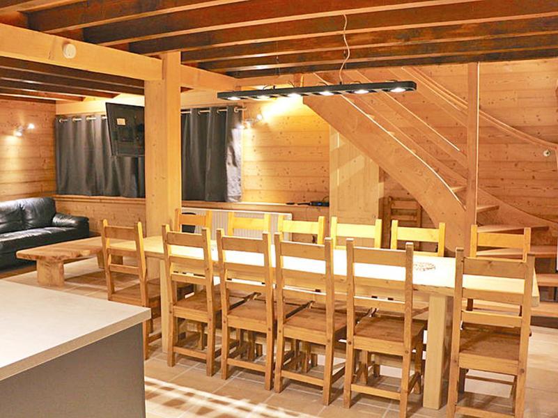 Vacances en montagne Chalet Haute-Savoie - Morillon - Salle à manger